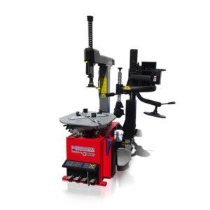 Pneumontiermaschine Reifenmontiermaschine PKW Vollaut. 230V, 400V, mit Hilfsarm, 10 – 23″ mit Pneumatischer Heckschwenksäule Rema-Maschinen AG