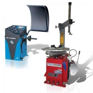 Pneumontiermaschine Reifenmontiermaschine LC810 + Wuchtmaschine Halbautomat RP-U100PN im Set Rema-Maschinen AG
