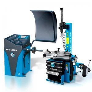 Pneumontiermaschine Reifenmontiermaschine RP-R-U200PN + Wuchtmaschine RP-R-U100PN im Set Rema-Maschinen AG