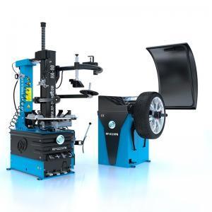 Pneumontiermaschine Reifenmontiermaschine RP-R-U221mit Hilfsarm HA90 + Wuchtmaschine RP-R-U120PN im Set Rema-Maschinen AG