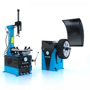 Pneumontiermaschine Reifenmontiermaschine RP-R-U221PN + Wuchtmaschine RP-R-U120PN im Set Rema-Maschinen AG